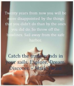 Catch the trade winds in your sail
