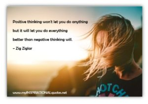 Positive thinking won't let you do anything
